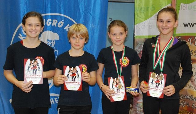 Burgenländische Teilnehmer/innen eines internationalen Rope Skipping Wettkampfes